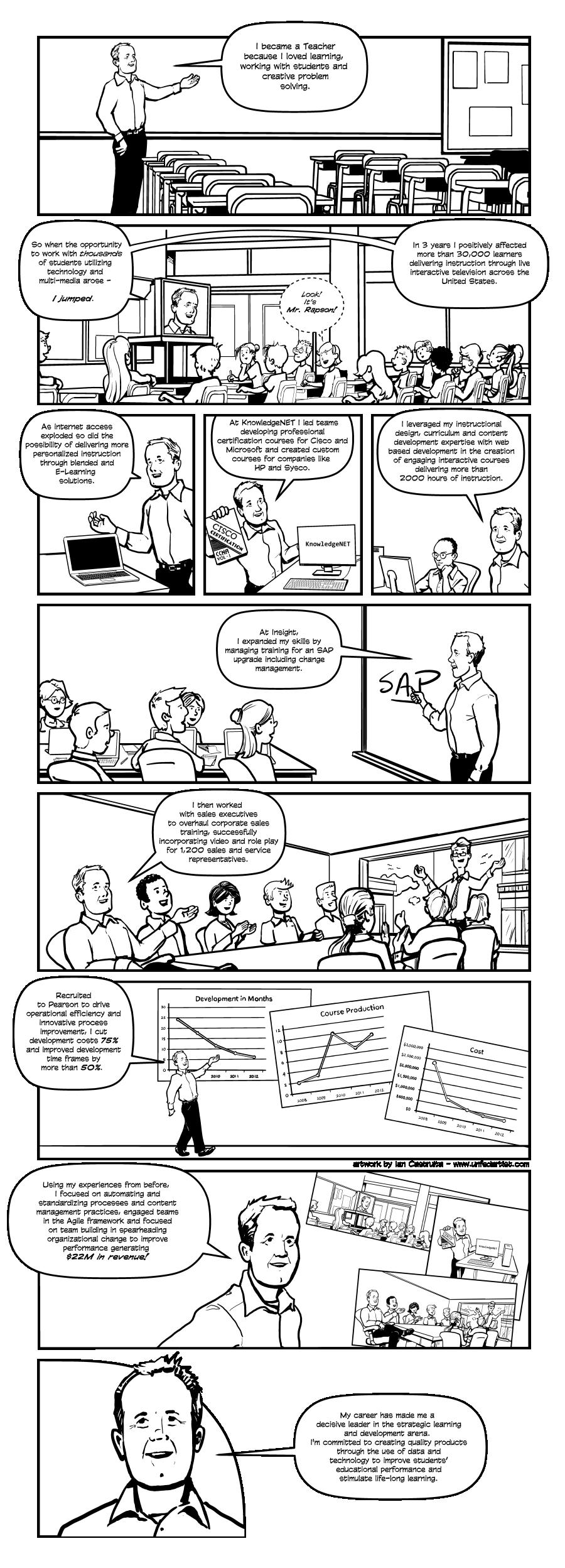 2014 Jay Rapson Career Comic