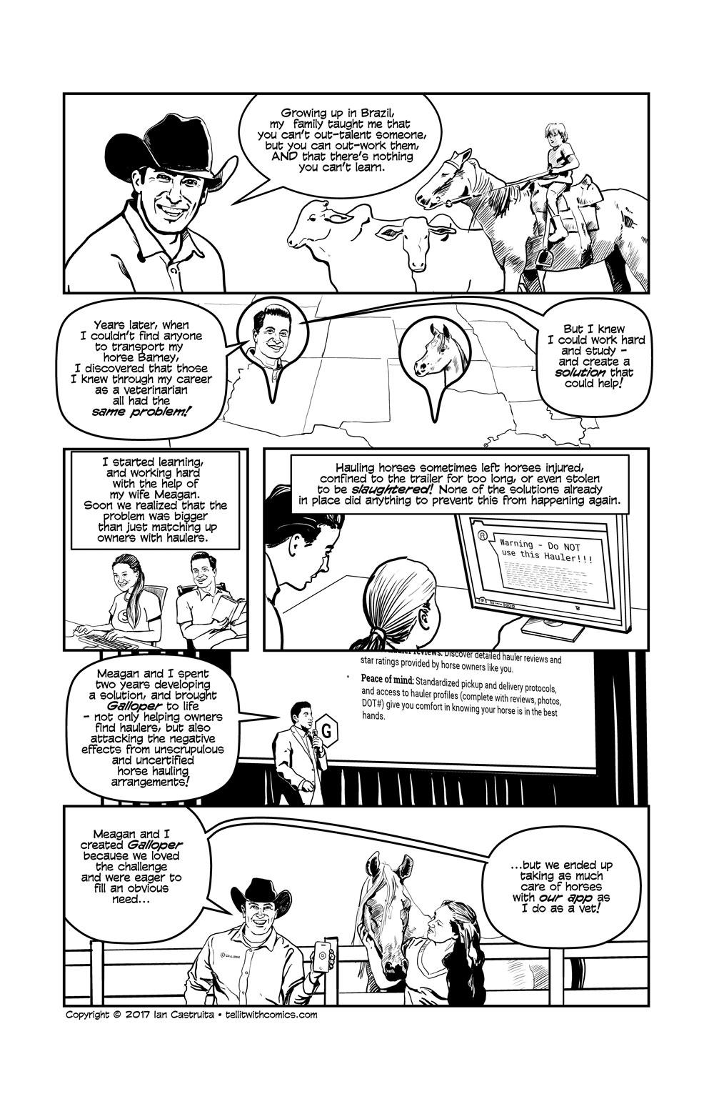 Comic for Galloper.com
