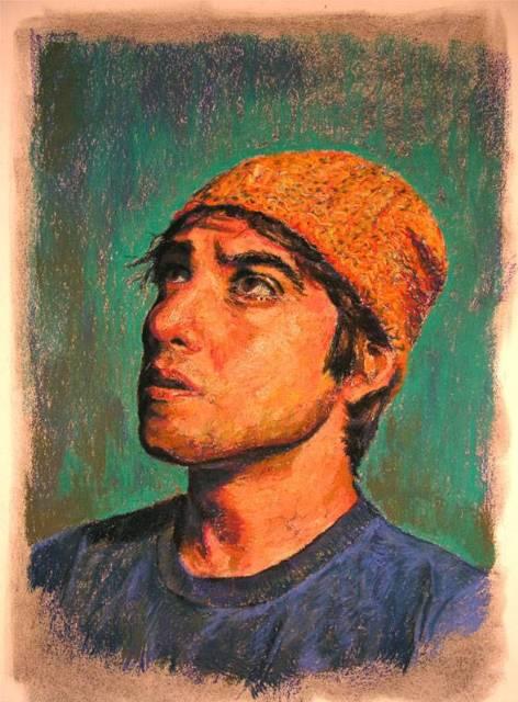 Pastel Self Portrait
